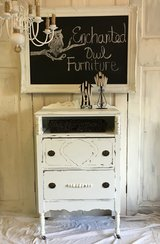 Shabby White Antique Chest in Kingwood, Texas