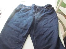 Women's 18W Dark Blue Jean Capris New in Joliet, Illinois