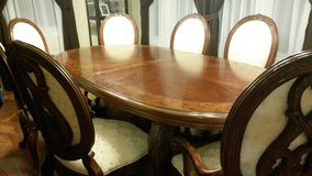 Dining Room/kitchen table w/12 chairs in Morris, Illinois