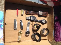 Men's Watches (8) and Knives (4) Bundle 2 are Fossil in Houston, Texas