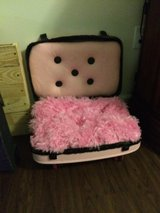 Vintage suitcase dogbed small in Columbia, South Carolina