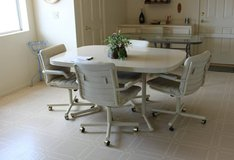 Casual dinning set with 6 swivel chairs in Temecula, California