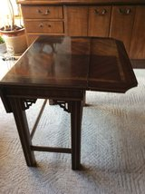 Wooden  accent table in Naperville, Illinois
