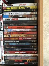 Lots of DVD's in Fairfield, California