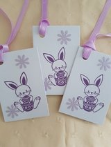 10 Easter Bunny Gift Tags Handmade in Ramstein, Germany