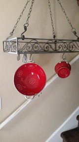 Nickel Decorative / Iron Hanging Pot Rack in Fort Campbell, Kentucky