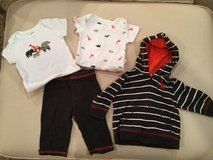 Carter's pant/hoodie set...size 3 months in Naperville, Illinois