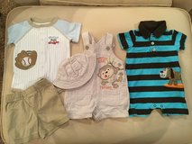 Rompers & overall sets...size 3 months in Naperville, Illinois