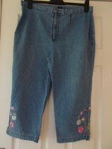 Ladies 3/4 Jeans size 16 By Dash in Cambridge, UK