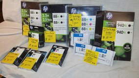 INK CARTRIDGES (ASSORTED)  88 xl  AND  940 XL in 29 Palms, California