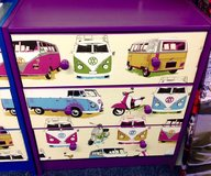 VW Themed Dresser Chest of Drawers in Lakenheath, UK
