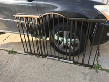 Brown metal baby gate in Algonquin, Illinois