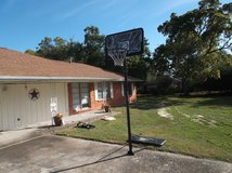 2 Month old Fully assembled Basketball Goal w/ ball in Baytown, Texas