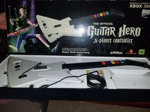 The Official Guitar Hero X-plorer Controller by Red Octane in Fort Leonard Wood, Missouri