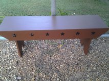 Amish Style Barn Bench in Coldspring, Texas