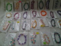 (37)  Pony Bead Bracelets in Coldspring, Texas
