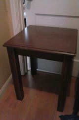 End table in Lackland AFB, Texas