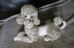 Atlantic mold porcelain Poodle in Lackland AFB, Texas