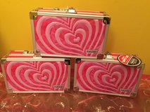 Vaultz Locking Pink Heart Pencil/ Supply Box ( 2 LEFT ... ) in Morris, Illinois