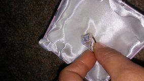 white gold square diamond ring in Vacaville, California