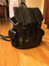 Aldo Black Backpack/Purse/Bag-EUC in Naperville, Illinois