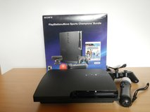 PS3 Slim Move Bundle and Arcade Controller in Ramstein, Germany