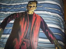 """Halloween vintage cut out's frankstein,mummy,dracula 1970""""s used in Glendale Heights, Illinois"""