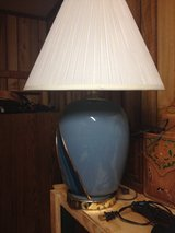 Blue lamp in Fort Polk, Louisiana