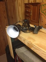 Desk lamp in Fort Polk, Louisiana