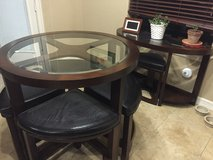 Glass top table and chairs in Alvin, Texas