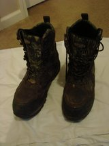 Mens Guide Gear Hunting Boots (used)/ ( size 11) in Fort Campbell, Kentucky