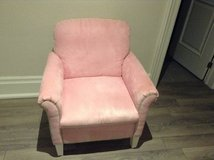 Really nice pink/green stripes chair from Bombay kids in Spring, Texas