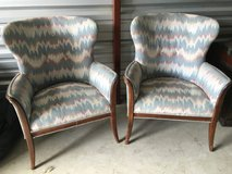 Pair of antique chairs in Shorewood, Illinois