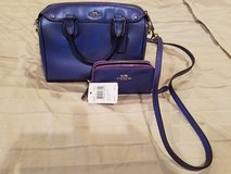 brandnew COACH Set Purse and matching wallet(retailprice 275$ for the bag and 95$ for the wallet in DeRidder, Louisiana