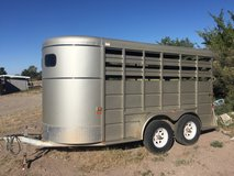 STOCK TRAILER in Alamogordo, New Mexico