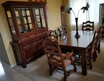 Dining room table & China cabinet in Batavia, Illinois