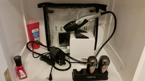 Gently Used Temptu Airbrush Makeup & Compressor in Conroe, Texas