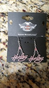 Harley Davidson Earrings and Necklace in Conroe, Texas