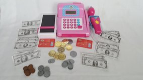 Electronic pink Cash Register in Chicago, Illinois