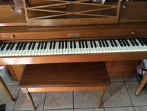 Baldwin Spinet Piano with bench in Bartlett, Illinois