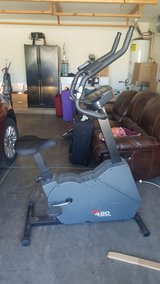 Stationary Bike in Davis-Monthan AFB, Arizona