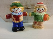 Vintage salt and pepper shakers in Plainfield, Illinois