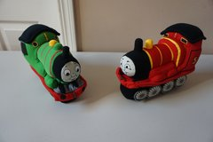 Thomas the Train, Percy and James Plush Doll Set in Chicago, Illinois