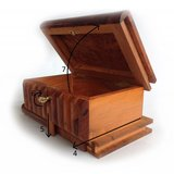 3x Secret Puzzle Box Wood Thuya Hand-made In Morocco Thuja in Bartlett, Illinois