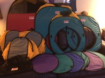 Play hut tent set in Chicago, Illinois