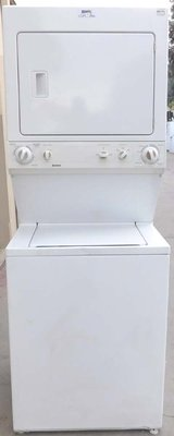 STACK KENMORE WASHER & DRYER ( FULL SIZE GAS ) WITH WARRANTY in Oceanside, California