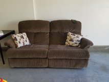 Brown reclining couch in Temecula, California