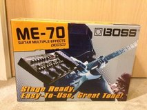 *reduced* Boss ME-70 Guitar multi-effects pedal (like new) in Okinawa, Japan