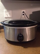 Crock-pot Slow cooker 6 quart in Fort Bliss, Texas