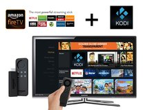 AMAZON FIRE BOX & FIRESTICK JAILBROKEN, WITH KODI 17.4 MOVIES, LIVE TV, in Fort Lee, Virginia